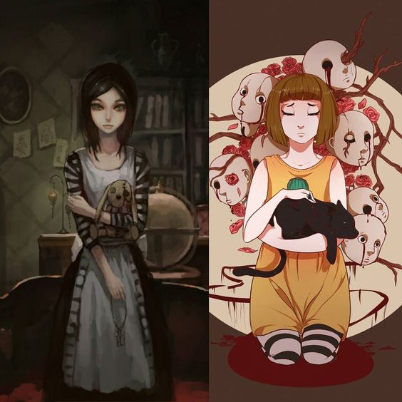 There will always be Insanity... #fran #bow #and #alice #madness #returns…