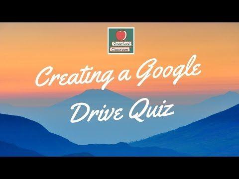 Creating A Google Docs Quiz - The Organized Classroom Blog