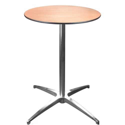 24 Inch Round Tail Table Cafet