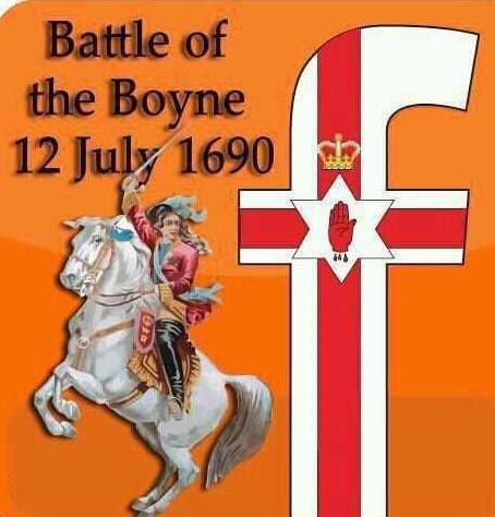battle of the boyne in july