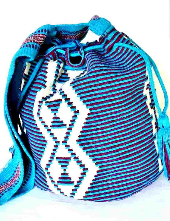 Best single thread weave Wayuu mochila bag