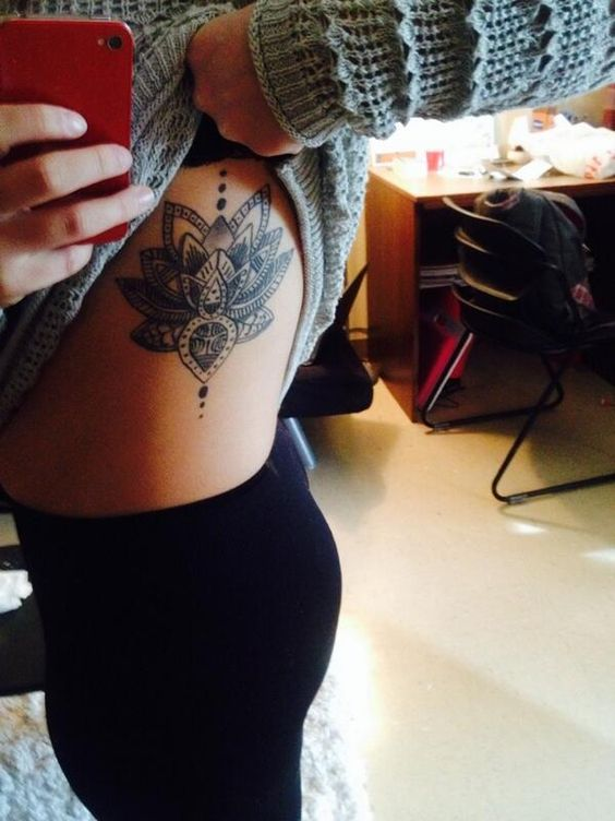 I can't decide if I want this tattoo on my back or on my side...