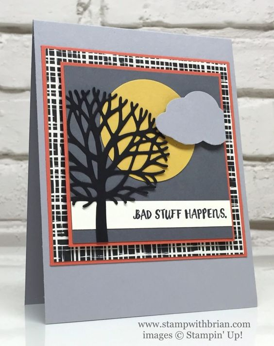 Here for You, Beautiful Branches Thinlits Dies, Stampin' Up!, Brian King: