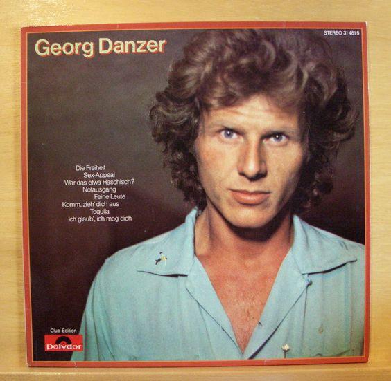 GEORG DANZER - Same - Vinyl LP - Austro-Pop - Sex-Appeal War das etwa Haschisch