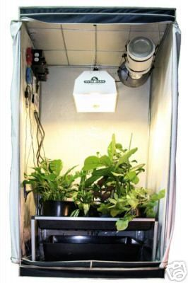 Grow tent hydroponics system and indoor gardening on for Indoor gardening ventilation system