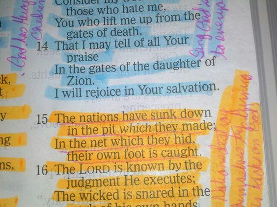 Psalm 9:15