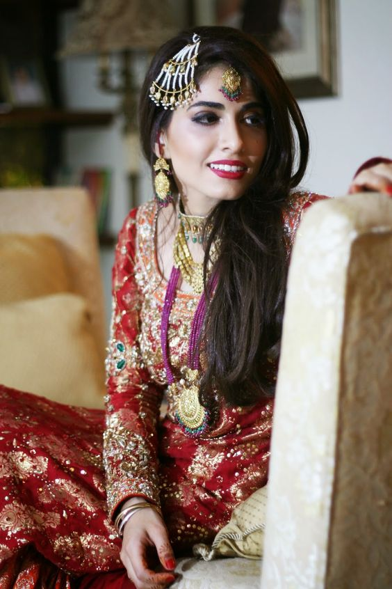 brides wearing salwar kameez