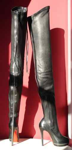 christian louboutin thigh high boots ebay