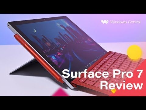 Although The Display Bezels Are A Little Thick And There S No Dolby Vision Support The New Surface Pro 7 Is Still The Best Surface Pro New Surface Pro Surface