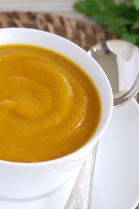 Simple Roast Pumpkin Soup - Julie Goodwin recipe