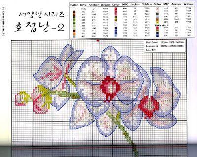 ♥Meus Gráficos De Ponto Cruz♥ Flores