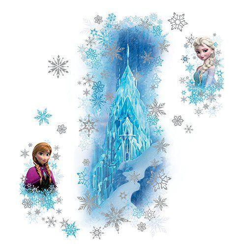 Frozen Kinderzimmer Disney Frozen Eispalast Glitzernd Wandtattoo Wandgestaltung Fur Ein Frozen Kinderzimmer Gli Glitzerwande Wandgestaltung Wandtattoos