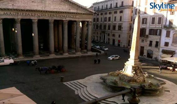 Web kamera Rome - Pantheon