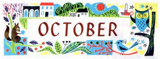 Hello October :-)