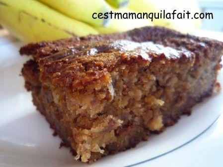 Ne+jeter+plus+les+3+bananes+trop+mures+au+fond+de+la+coupe+de+fruits+...+faites+en+ce+délicieux+gâteau+à+la+bananeà+la+croute+doré+si+gourmande+et+au  moelleuxgorgé+de+saveur+...        ENGLISH+TRANSLATION+AT+THE+BOTTOM+OF+THE+PAGE