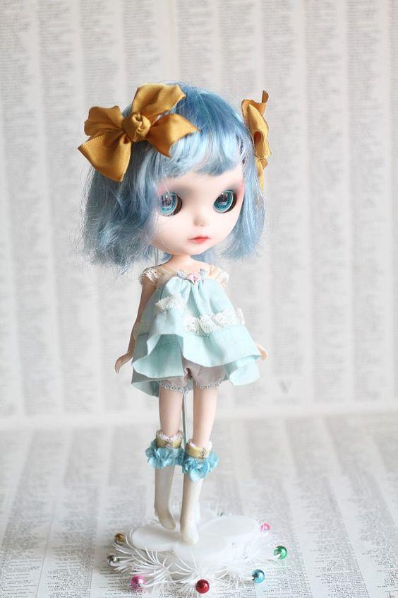Pearl  A Mab Girl  custom Blythe doll ooak Mab by mabgraves