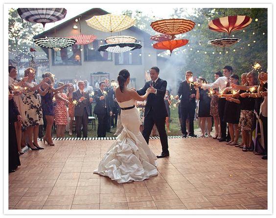parasol dance floor