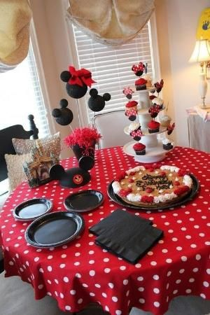 Minnie Mouse Birthday Party by ava