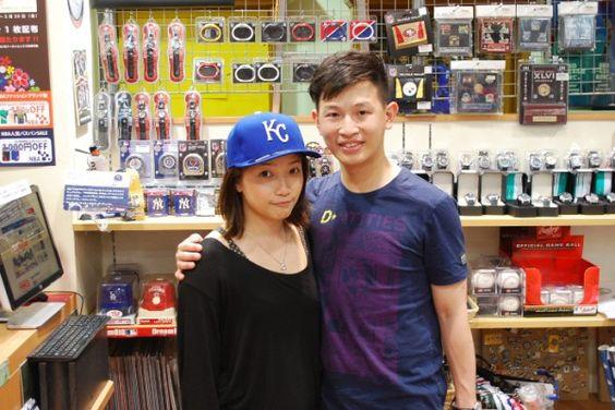 【大阪店】 2014年5月4日 香港から観光でご来店頂きました。 キャップを楽しそうにいっぱい被られてました^^ いい思い出になれば嬉しいです!!#mlb