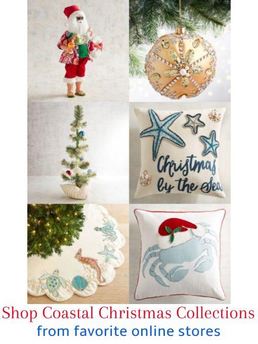 Shop Coastal Christmas Decor Ornaments Coastal Christmas
