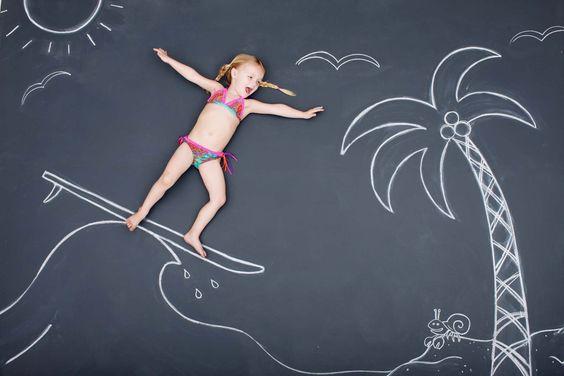 kids chalk -take a chance