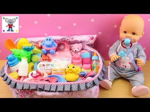 Precio reducido fabricación hábil gran selección de Bolso Cambiador y accesorios para la muñeca bebé | La bebé ...