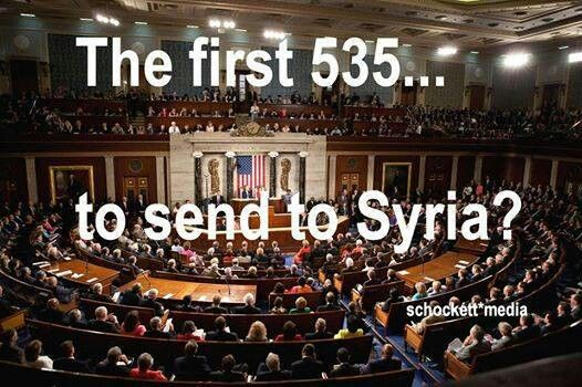 Please let these scumbags go first #Syria