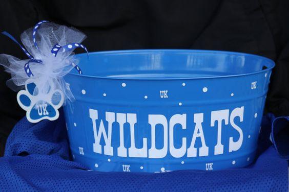 University of Kentucky Wildcats Pail by LittleLad on Etsy, $15.00
