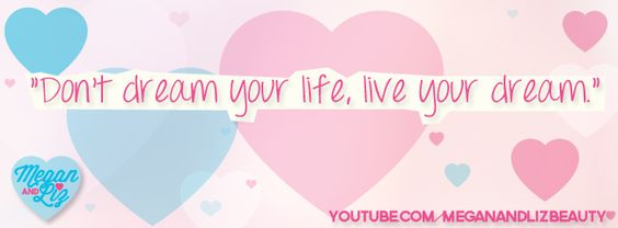 From our Purse Tour video (http://youtu.be/tDwTRWCw728)! To us this quote really means that it is important for you to go out there and make something of your life— to live your dream and not just wait for it to happen! :D xoxo - M & L<3    #macers #meganandliz #quotes #inspirational #dream #life #beauty #video