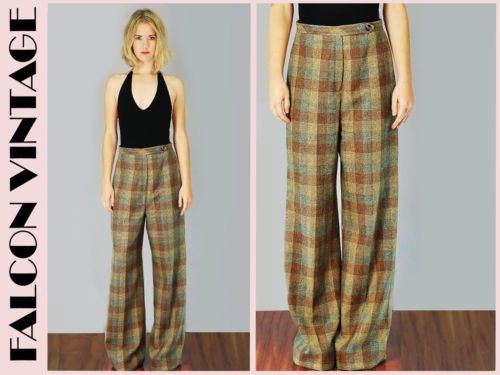 Trousers, High waist and Wide leg pants on Pinterest