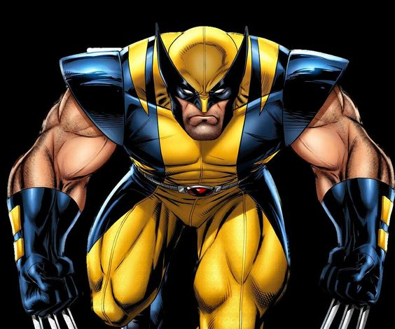 Wolverine ready for battle.