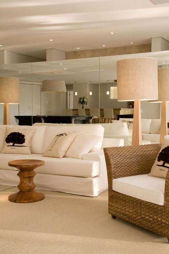 sofá-branco-fibra-espelho
