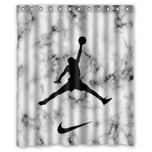 Best Air Jordan Jump White Marble Custom High Quality Shower