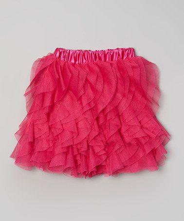 Another great find on #zulily! Hot Pink Ruffle Tutu Skirt - Toddler & Girls by Kosse Designs #zulilyfinds