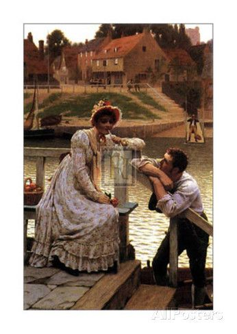 Courtship Prints by Edmund Blair Leighton at AllPosters.com