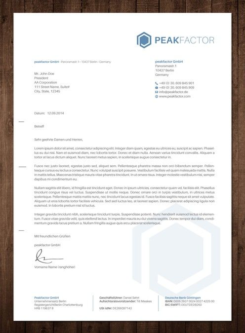 business letter for innovative software company by Tcmenk Design