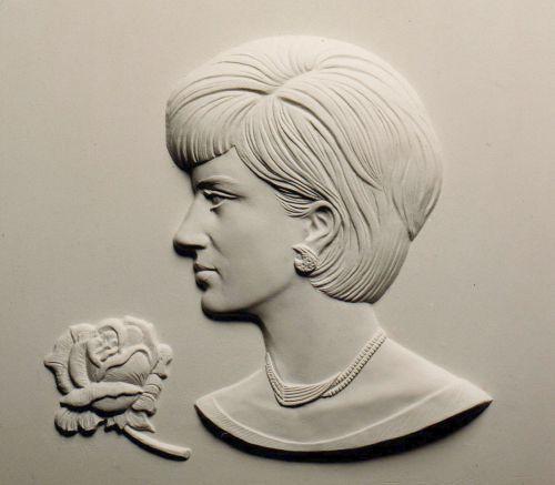Plaques, Medals, Medalions, Coins, Tokens sculpture by artist David Cornell titled: 'Dirose' #sculpture #art