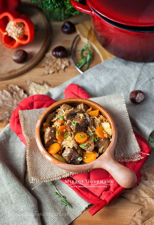 Stewed beef with rice by miragegourmand  IFTTT 500px 500pxgetcozy background bagging beef chestnuts closeup cooking countrystyle cozy cuisi