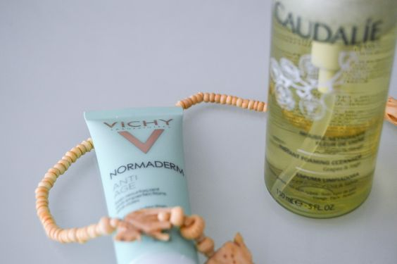 Glamour in a Bottle // Caudalie & Vichy: Skin Care
