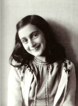 Anne Frank. I wrote a school report on her, she is one amazing young girl.