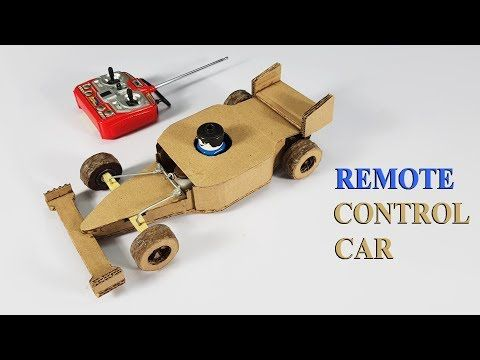 How To Make Remote Control Car At Home Youtube