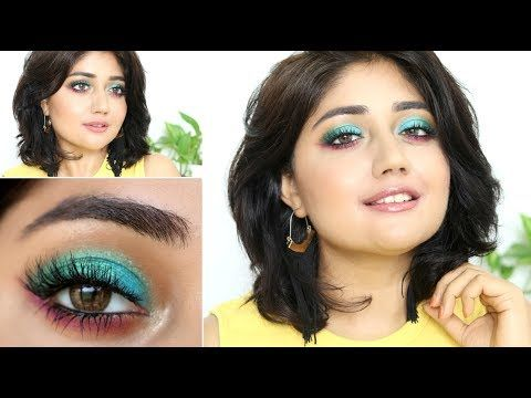 Makeup Tutorial Playing With Color Corallista Youtube Makeup Tutorial Makeup Tutorial