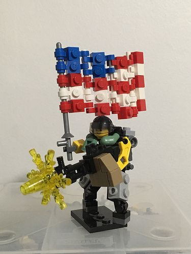 The Armoury: [BB19] USA Augmented Soldier Frame, by aoffan23