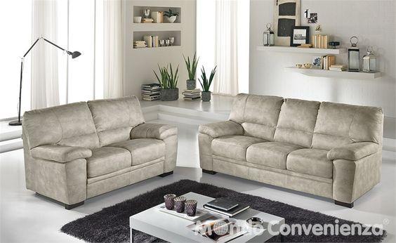 Divano diana 2 e 3 posti di mondo convenienza abbiamo acquistato questi due divani per il - Divano letto 3 posti mondo convenienza ...