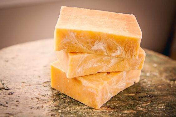 Papaya Soap Sweet Scent Mango Organic Vegan by FriendlyBodyProduct