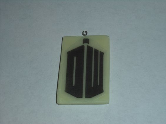 Doctor Who glow in the dark pendant