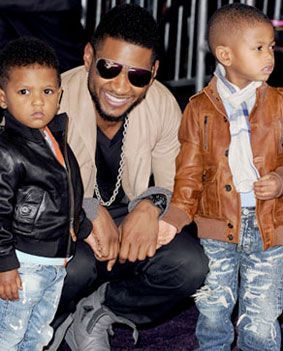 Jetss | Usher agradece os hérois que salvaram a vida de seu filho