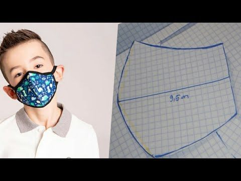 Diy Kids Protection Mask Pattern Link Of Tutorial Mask With
