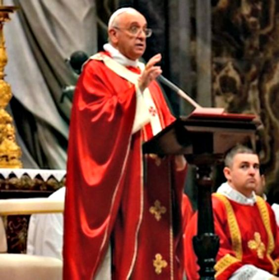 "Pope on Pentecost Preaching: The Holy Spirit Enlivens the Church: The Holy Spirit is the 'interior Teacher,' guiding us 'along the right path, throughout the situations of life.' ""In the early days of the Church, Christianity was called 'the way,' and Jesus himself is the way. The Holy Spirit teaches us to follow him, to walk in his footsteps. More than a teacher of doctrine, the Spirit is a teacher of life."""