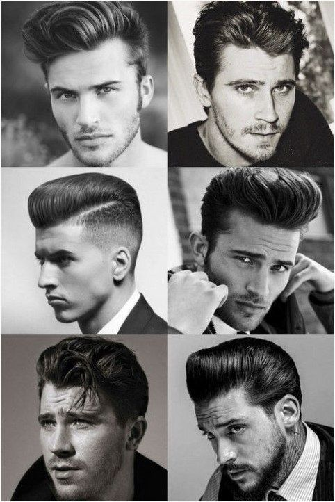 1950er Jahre Frisuren Fur Manner 50er Jahre Frisur Pompadour Manner Pinterest Frisuren